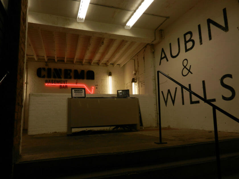 Movies you feel and taste! Edible Cinema at the Aubin in London