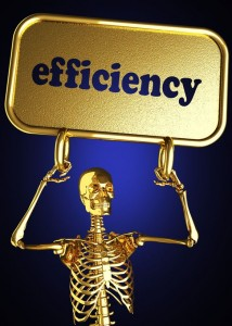 Are you in danger of death by efficiency?